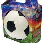 с футбольным мячом